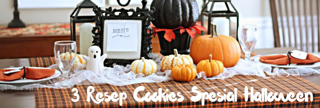 3 Resep Cookies Spesial Halloween
