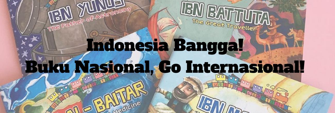 Indonesia Bangga: Buku Pelangi Mizan Go Internasional!