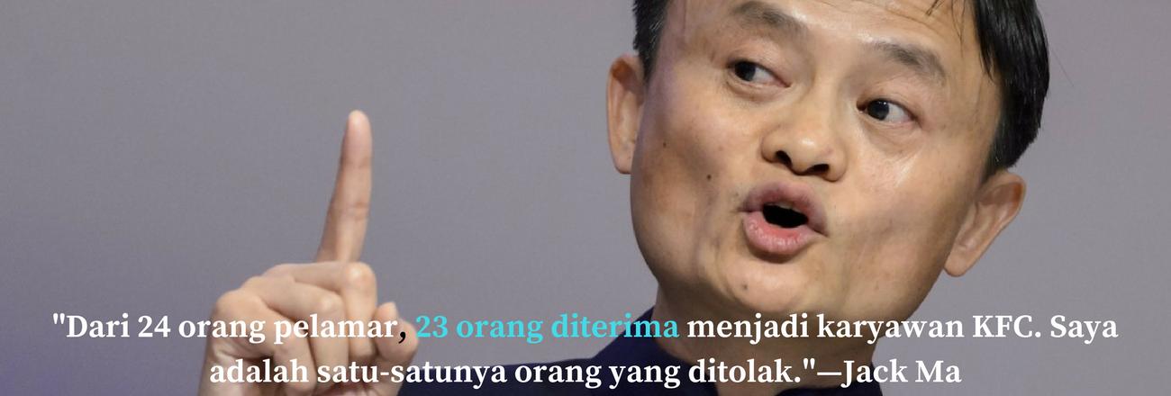 Gagal Jadi Pegawai KFC, Jack Ma Malah Jadi Orang Terkaya Di China