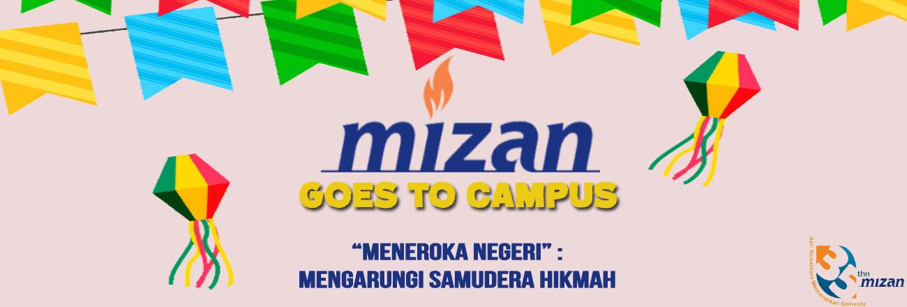 Mizan Goes To Campus Hadir untuk Akademisi