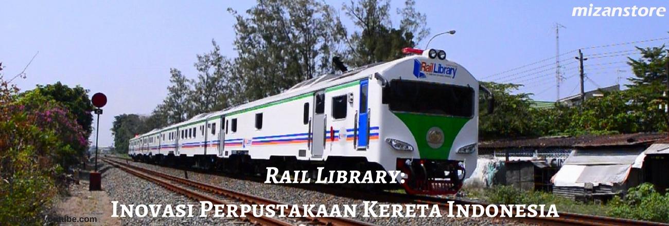 Mengintip Rail Library: Inovasi Perpustakaan Kereta Indonesia