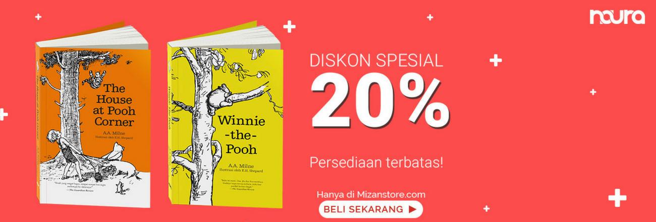 Buku Winnie The Pooh Series Diskon 20%