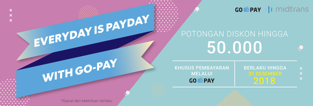 Everyday is Payday with GO-PAY!