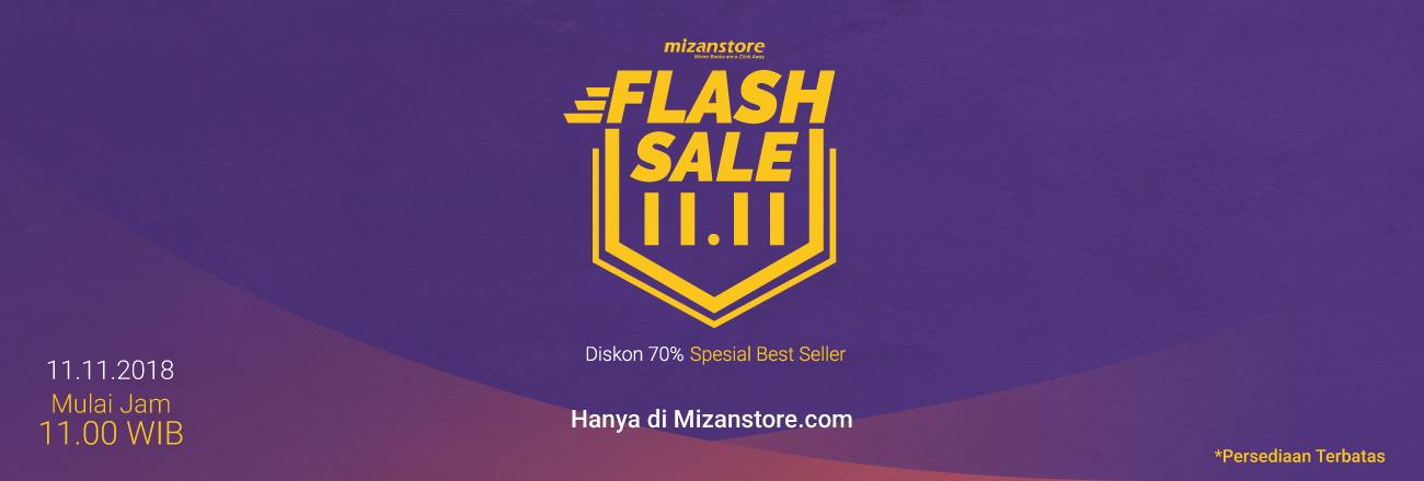 Best Seller Harga Miring di Mizanstore Flash Sale 11.11!