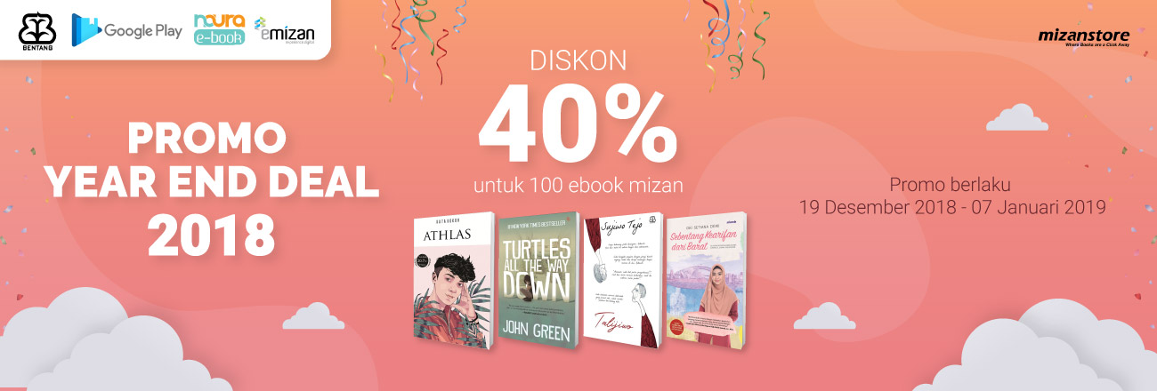 Year End Deal: Diskon Besar-Besaran 100 Judul Ebook