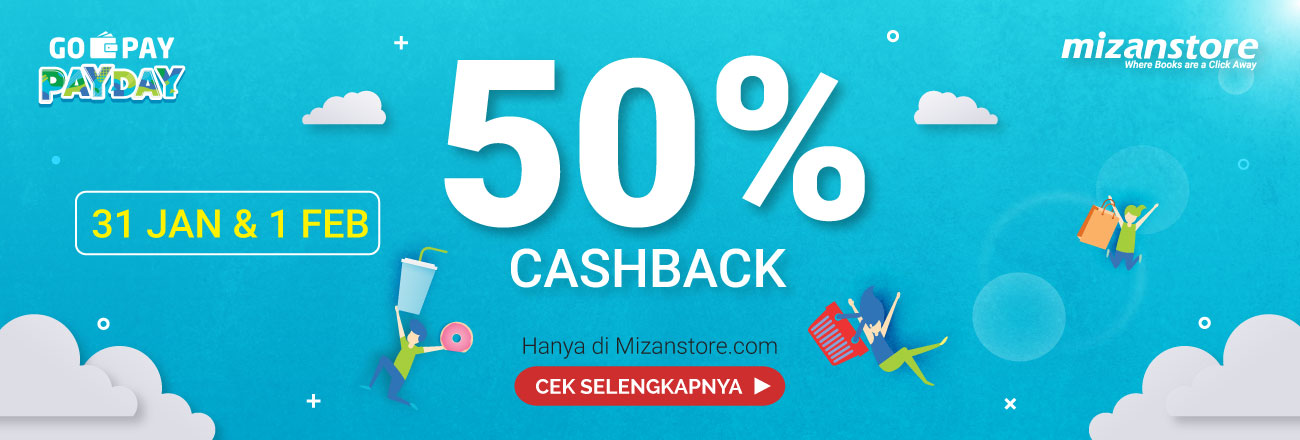 50% Cashback: Go-Pay Pay Day