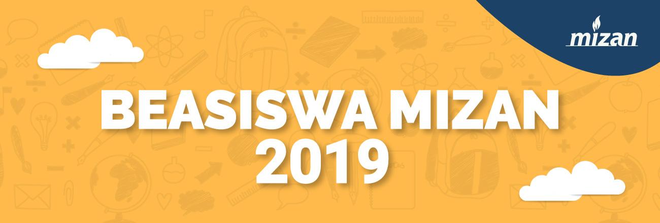 Beasiswa Mizan 2019