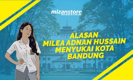 Alasan Milea Adnan Hussain Menyukai Kota Bandung