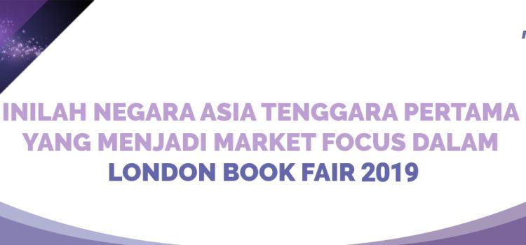 Inilah Negara Asia Tenggara Pertama yang Menjadi Market Focus dalam London Book Fair 2019