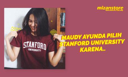 Maudy Ayunda Pilih Stanford University Karena..