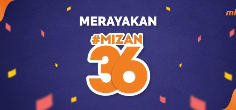 #Mizan36 : Kado Dari Mizan Untuk Kamu