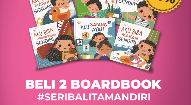 Sambut Diskon 20% Untuk Buku-Buku Seri Cerita Balita