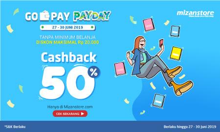Beli Buku Dapat Cashback 50% : Go-Pay Pay Day