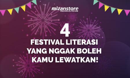 Ngaku Pecinta Literasi: Yuk! Kunjungi 4 Festival Indonesia Berkelas International Ini