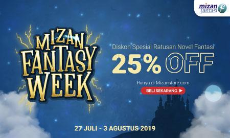 Diskon Spektakuler: Ratusan Judul Buku Fantasi hanya di Mizan Fantasy Week