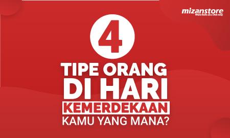 4 Tipe Orang di Hari Kemerdekaan, Kamu yang Mana?