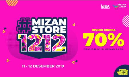 #Mizanstore1212: Diskon Hingga 70% Semua Buku dan Mainan Anak