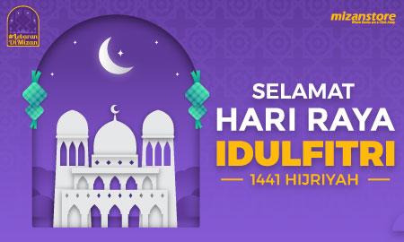 Selamat Hari Raya Idulfitri 1441 H.