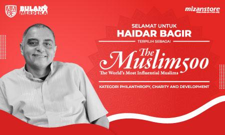 Selamat! Untuk ke-12 Kalinya, Haidar Bagir Terpilih dalam 500 Tokoh Muslim Paling Berpengaruh di Dunia!