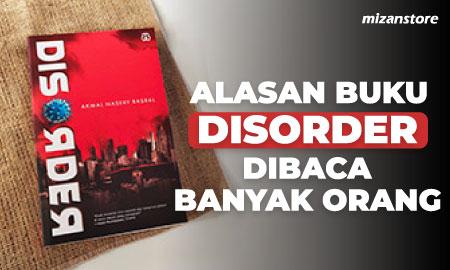 Ini Alasan Buku Disorder Dibaca Banyak Orang!