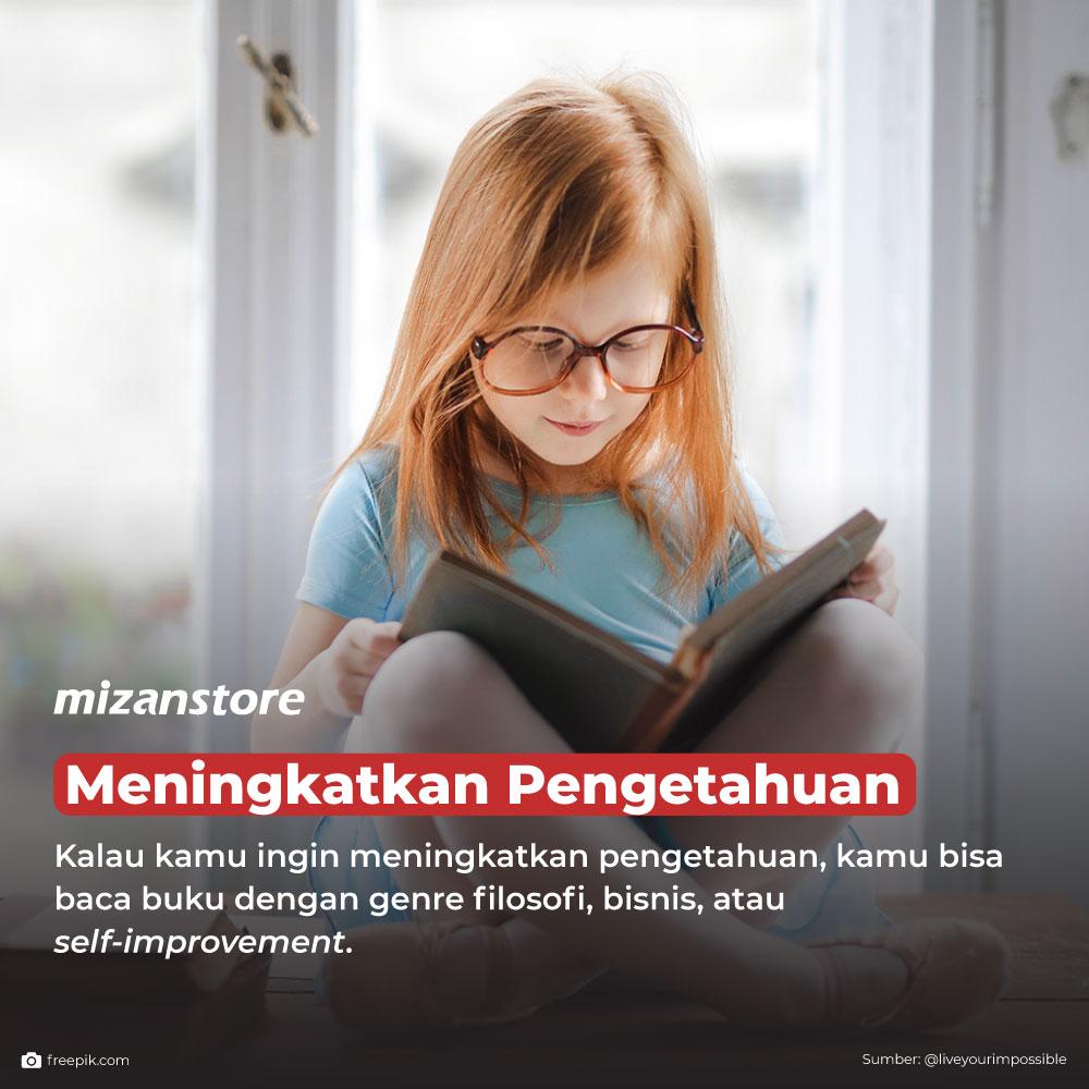 Membaca dapat meningkatkan pengetahuan