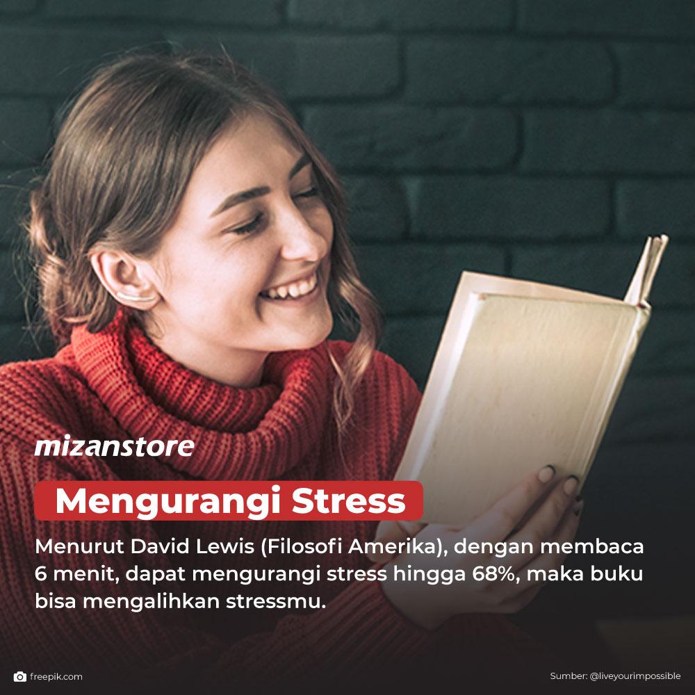 Membaca buku dapat mengurangi stress