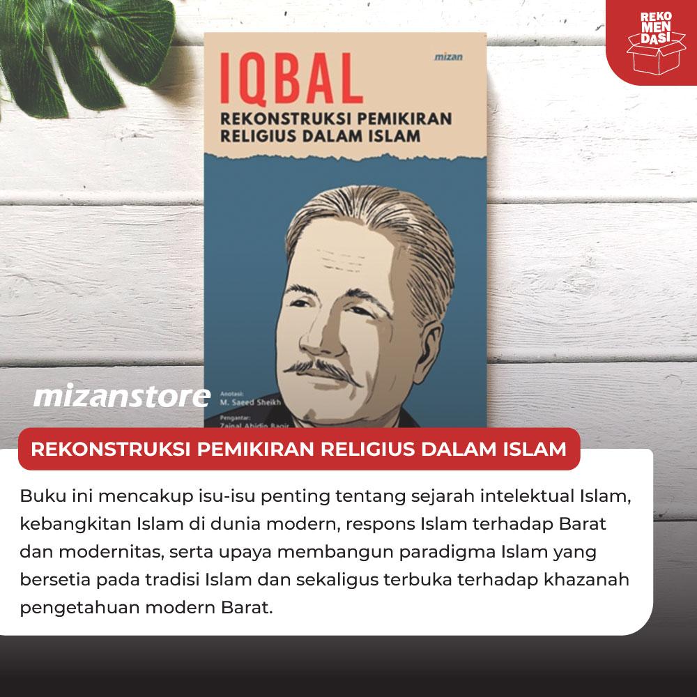 Buku Rekonstruksi Pemikiran Religius dalam Islam