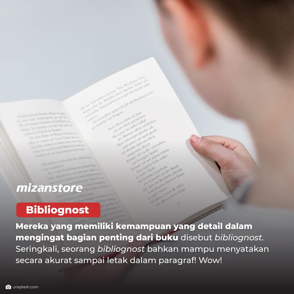 Bibliognost: memiliki kemampuan detail dalam mengingat bagian penting dari buku