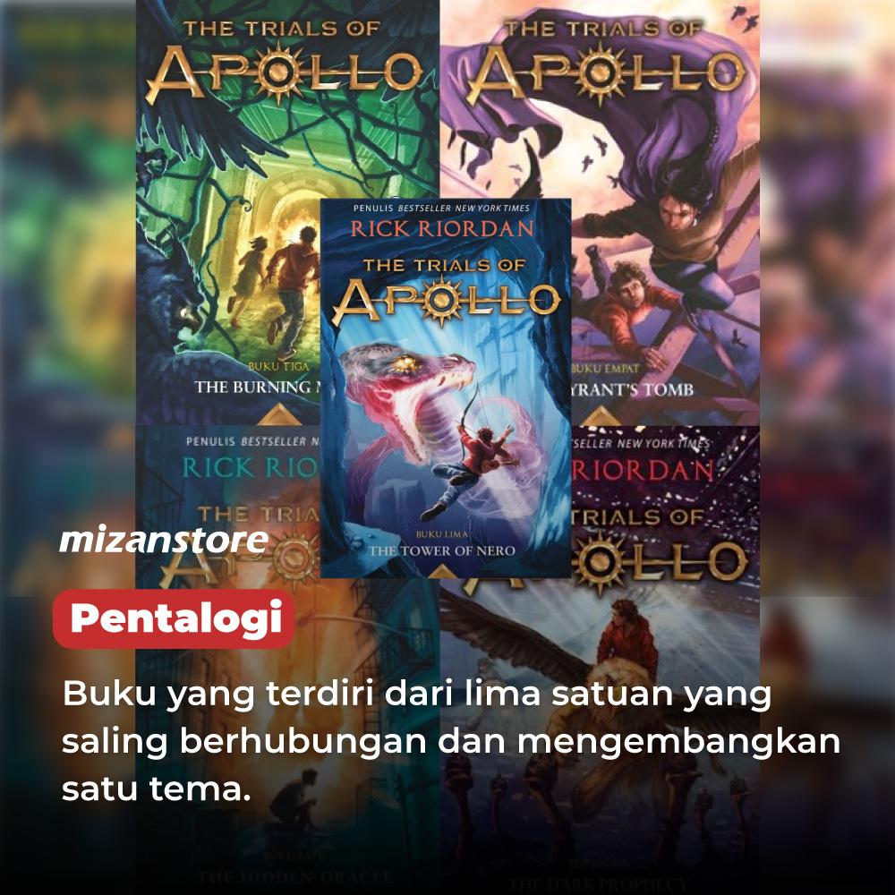 Pentalogi, serial buku The Trials of Apollo, karya Rick Riordan.