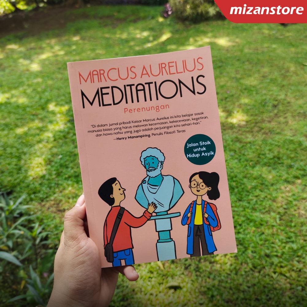 Buku Meditations karya Marcus Aurelius