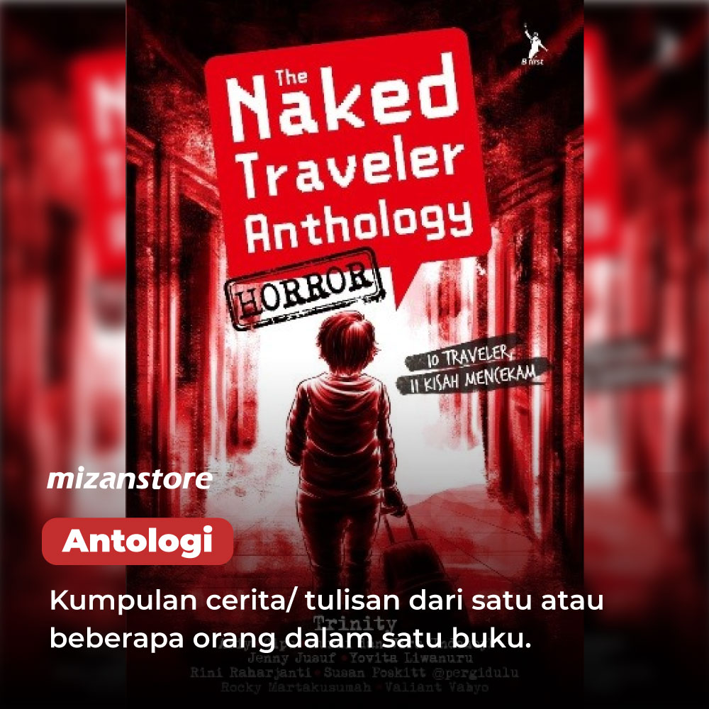 Buku Antologi The Naked Traveler, karya Trinity.
