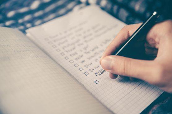 Susun rencana terbaik kamu. Bisa dimulai dari rencana harian atau renaca mingguan, ya.