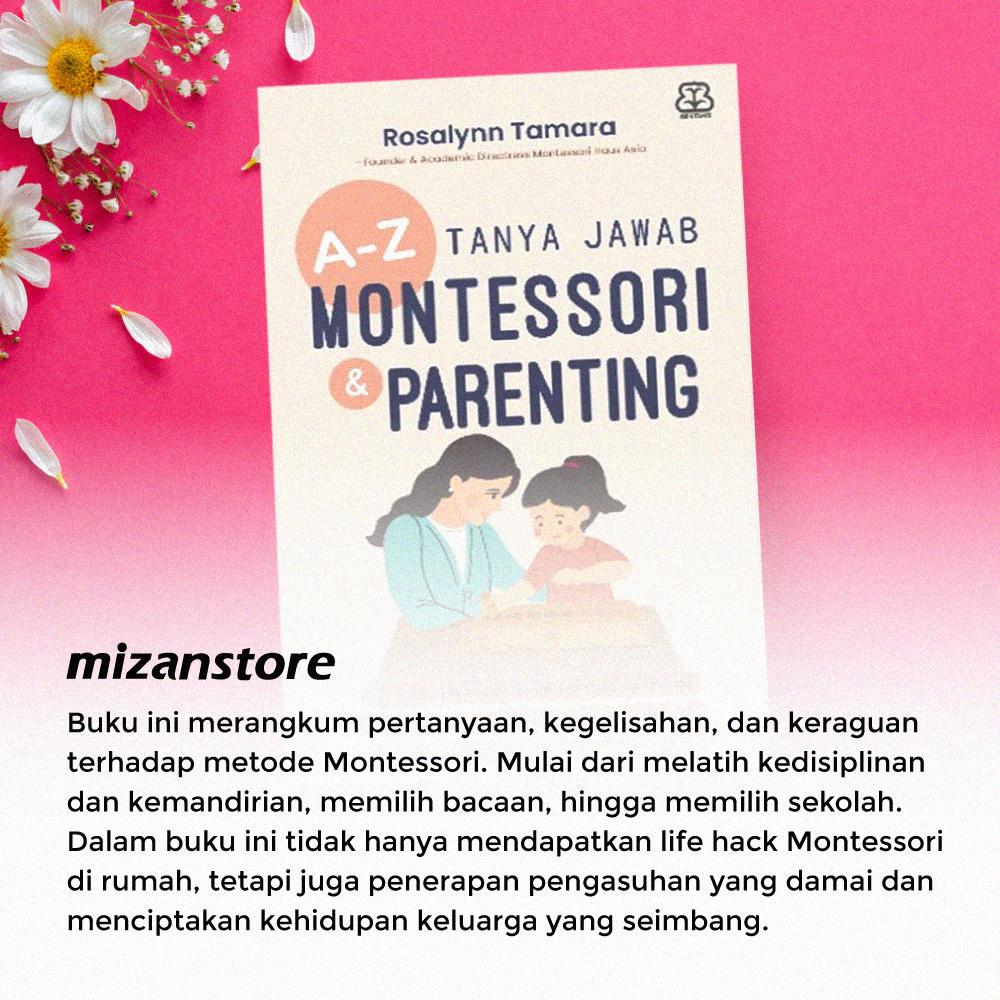 Buku A-Z Tanya Jawa Montessori & Parenting