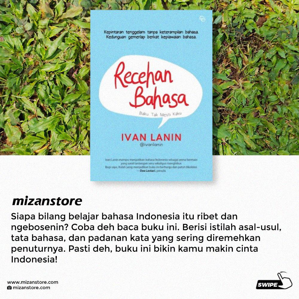 Buku Recehan Bahasa, Ivan Lanin