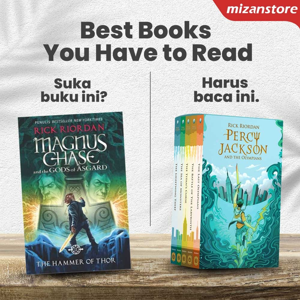 Magnus Chase The Hammer of Thor dan Percy Jackson