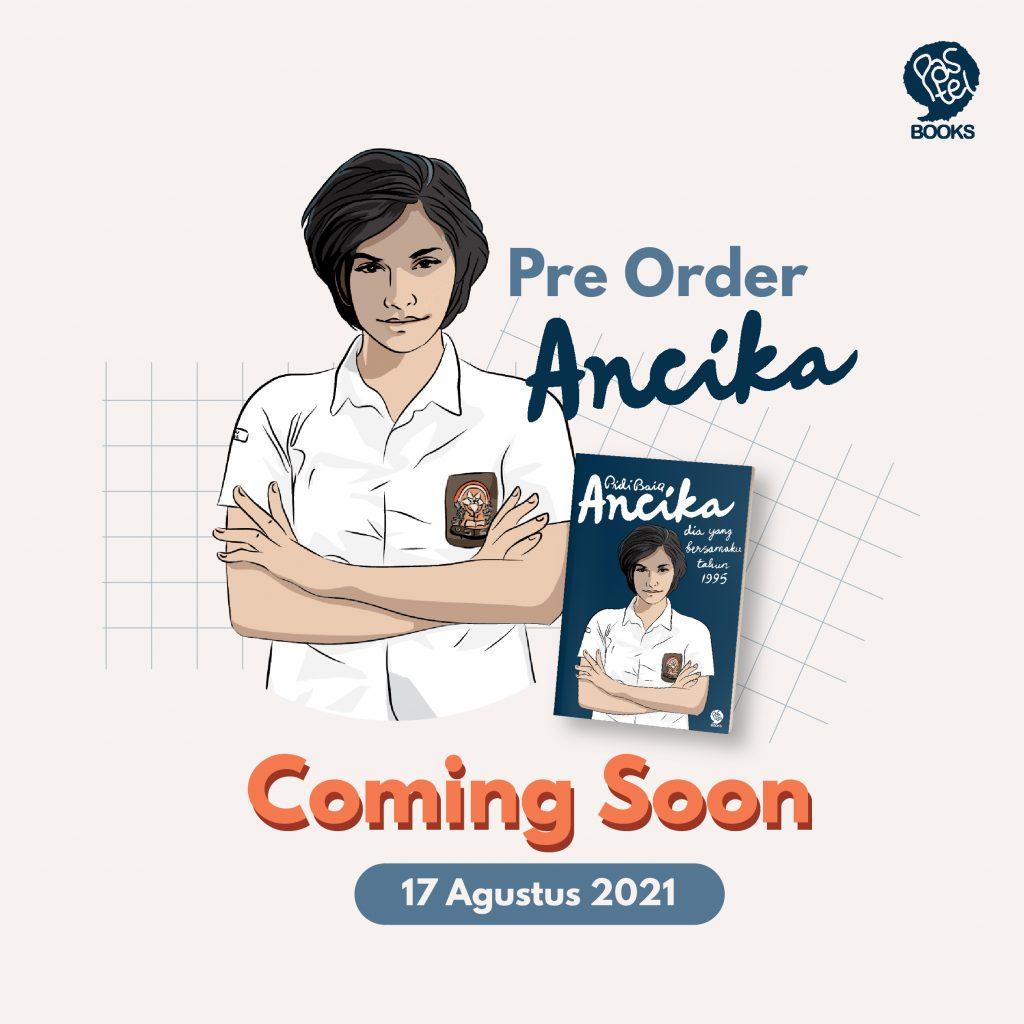 PreOrder Ancika Coming Soon 17 Agustus 2021