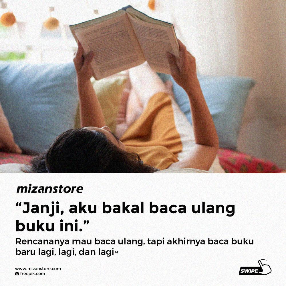 Kebohongan yang sering dilakukan pencinta buku