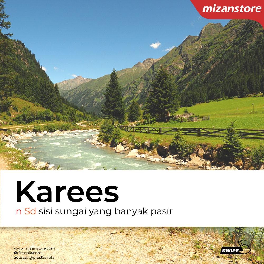 Karees: sisi sungat yang banyak pasir