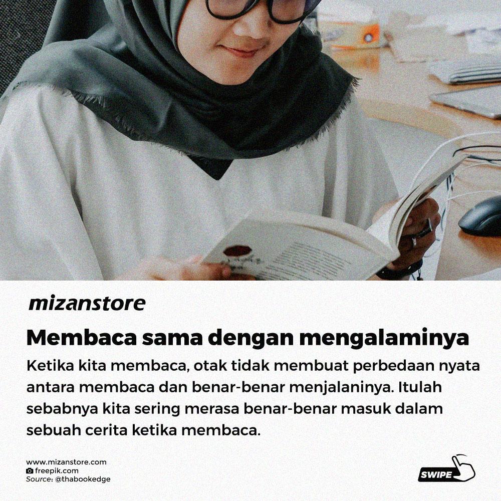 Membaca sama dengan mengalaminya